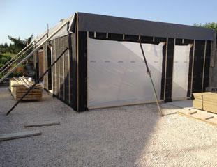 Construction d'un garage à Bourgoin-Jallieu (38300)