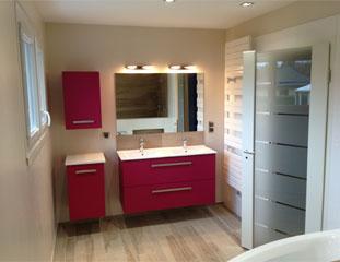 Rénovation d'une salle de bain à Bourgoin-Jallieu (38300)