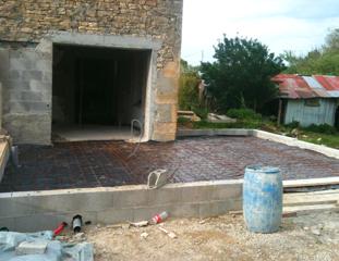 Création d'ouverture pour une rénovation et un agrandissement à Four (38080)