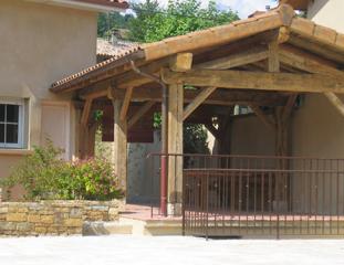 Création d'une terrasse couverte à Saint-Savin (38300)