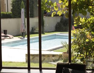 Réalisation d'une piscine à Saint-Savin (38300)
