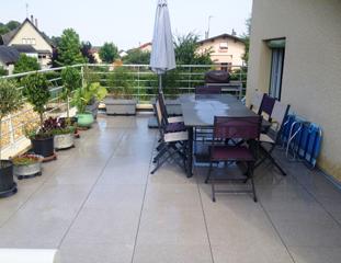 Réalisation d'une terrasse à Bourgoin-Jallieu (38300)