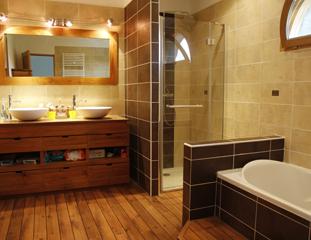 Création d'une salle de bain au Grand-Lemps (38690)
